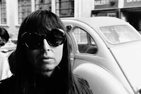Portrait of Shirley Goldfarb circa 1970, Paris, France. Photo by Gregory Masorovsky