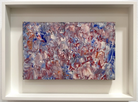 Abstract Composition, 1960, Oil on paper laid on panel