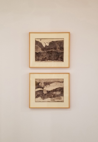 two drawing untitled