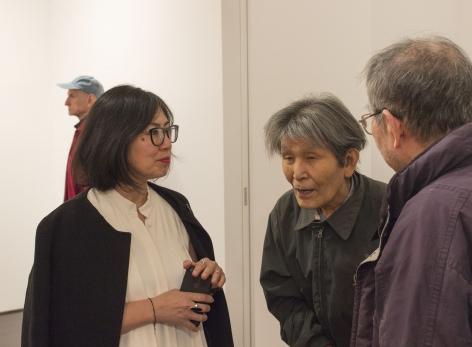 Mikiko Ino (Wife ofKikuo Saito) with friends
