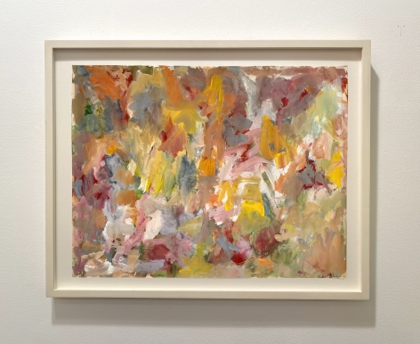 Untitled 60, 1960, Gouache on paper