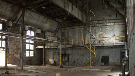 Interior view of Garfield Park Powerhouse. Photo: David Sampson