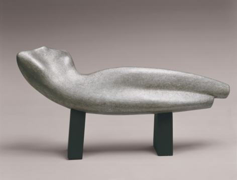 Alexander Archipenko, Torso in Space, 1935, cast c. 1950, aluminum, 11 h x 22 1/4 w x 5 3/4 d inches, lifetime cast,