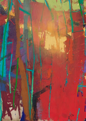 Brian Rutenberg, Eastern Night 3, 2018, oil on linen, 62 x 44 inches