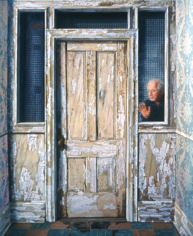 James Valerio, A Door, 2006, oil on canvas, 84 x 96 inches