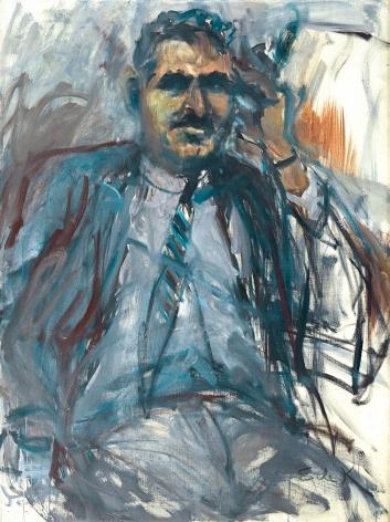 Elaine de Kooning, Harold Rosenberg #2, 1967 oil on canvas 48 1/4 x 36 inches