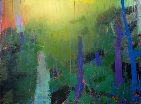 Brian Rutenberg Utterance, 2016, oil on linen, 60 x 82 inches