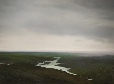 tula telfair,The Contemporary Sublime, 2014, oil on canvas, 72 x 96 inches