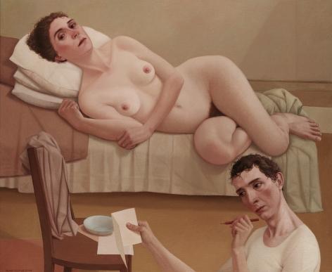 alan feltus, Insomnia, 2008, oil on canvas, 39 1/4 x 47 1/4 inches