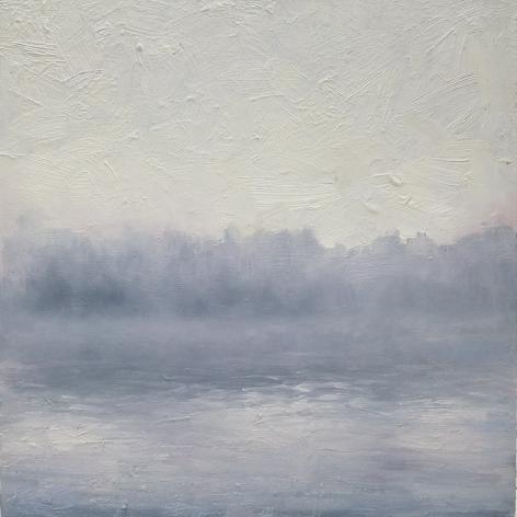 alyssa monks, Dawn, 2017, oil on panel, 12 x 12 inches