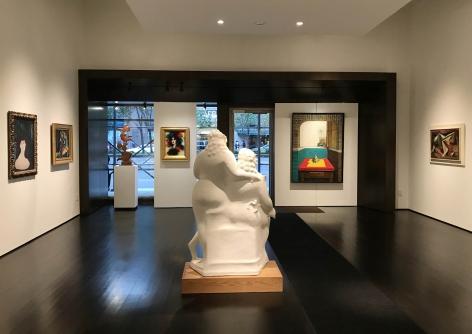 installation photo: Landmarks of 20th Century American Art, Forum Gallery, New York, NY, November 8, 2018 - February 2, 2019