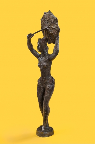 Chaim Gross, Tightrope Dancer, 1974, bronze, 63 x 16 1/2 x 14 1/2 inches, Edition of 4