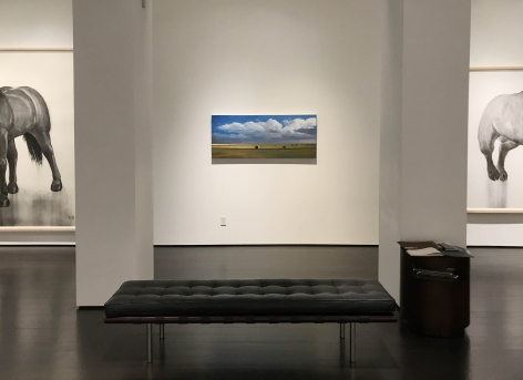 installation photo: William Beckman: New Paintings and Drawings, Forum Gallery, New York, NY, October 5 - November 11, 2017