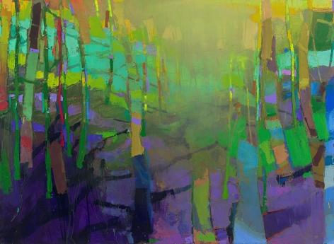 brian rutenberg, Mint Light (SOLD), 2014, oil on linen, 60 x 82 inches