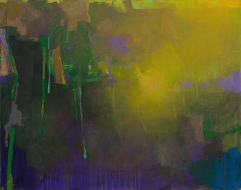brian rutenberg, Twist, 2014, oil on linen, 46 x 58 inches
