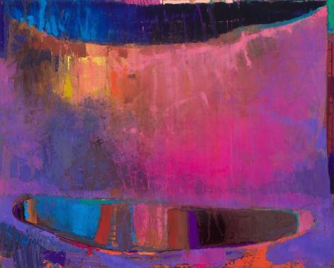 Brian Rutenberg, Clamdigger, 2019, oil on linen, 55 x 68 inches