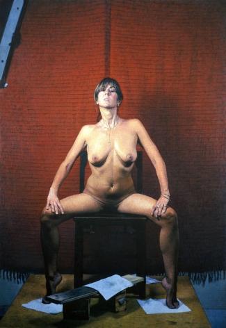 Bernardo Siciliano, Carolina (SOLD), 2008, oil on canvas, 90 3/4 x 60 1/2 inches