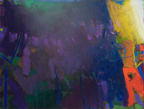 brian rutenberg, Storm Front, 2014, oil on linen, 38 x 50 inches