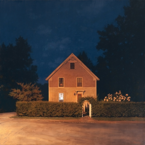 Linden Frederick Gate (SOLD), 2009, oil on linen, 40 x 40 inches