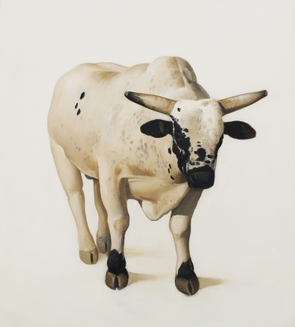 William Beckman, Cody, 2010, oil on panel, 20 3/8 x 18 3/8 inches
