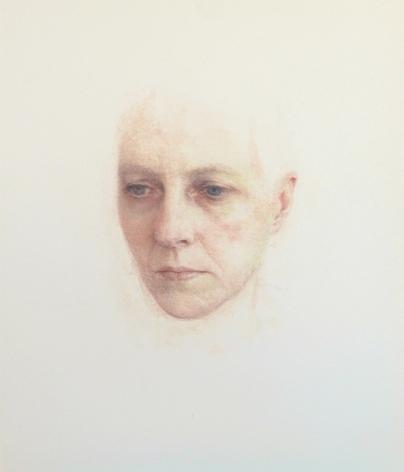 Robert Bauer, Bronlyn (SOLD), 2017, gouache, 10 x 8 1/2 inches