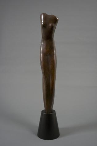Alexander Archipenko, Torso, var. II, 1945, bronze, 25 x 5 x 5 1/4 inches, Edition 9/12F, posthumous cast