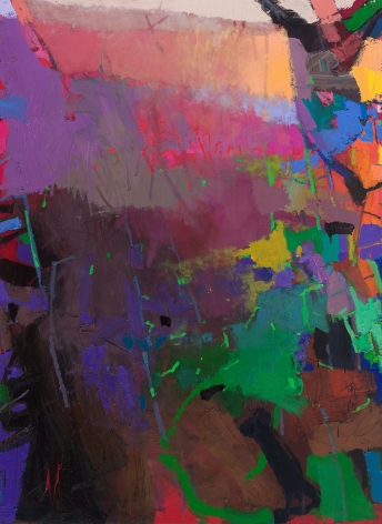 brian rutenberg, Rivulet (SOLD), 2013-14, oil on linen, 82 x 60 inches