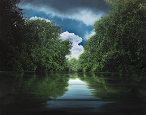 tula telfair, Oscillations of the Heart, 2019, oil on canvas, 60 x 76 inches
