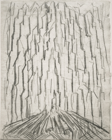 Abraham Walkowitz City Abstraction I, c.1911, pencil on paper, 9 x 7 inches