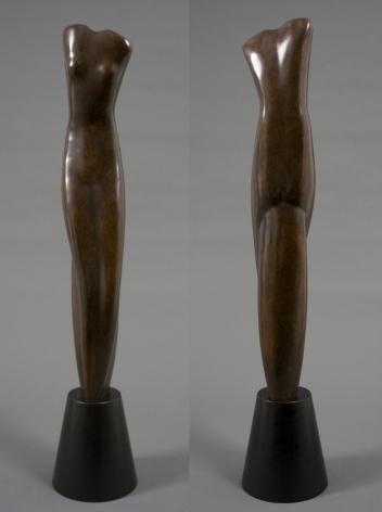 Alexander Archipenko, Torso, var. II (SOLD), 1945, bronze, 25 x 5 x 5 1/4 inches, Edition 9/12F