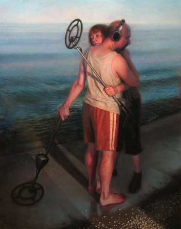 Paul Fenniak, Encounter (SOLD), 2008-09, oil on canvas, 60 x 48 inches