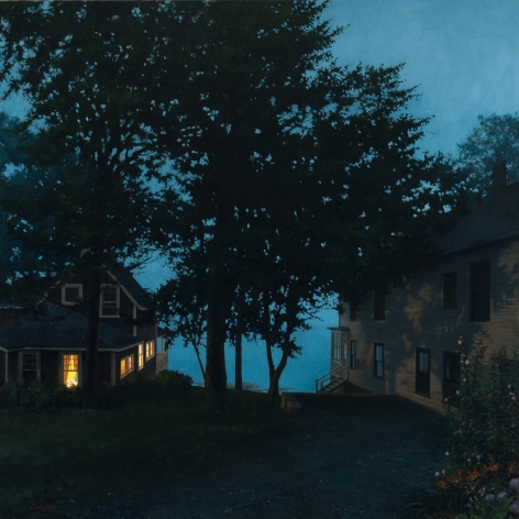 Linden Frederick Right of Way (SOLD), 2010, oil on linen, 40 x 40 inches