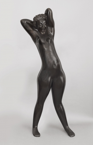 hugo robus, Dawn, 1931, bronze, 66 1/2 x 28 x 17 inches, Edition of 6
