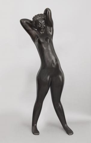 hugo robus, Dawn, 1931, bronze, 66 1/2 x 28 x 17 inches, Edition of 6