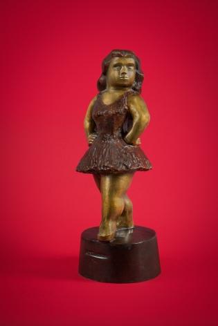 Chaim Gross, Ballet Girl, c. 1941, bronze, 21 x 7 3/4 x 8 1/4 inches