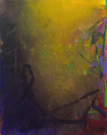 brian rutenberg, Green Pond, 2014, oil on linen, 58 x 46 inches