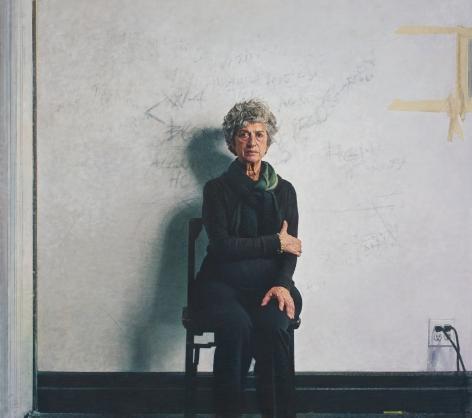Bernardo Siciliano, Mother (SOLD), 2013, oil on canvas, 81 x 91 inches