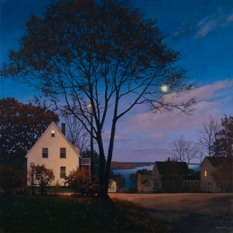 Linden Frederick Attic (SOLD), 2010, oil on linen, 40 x 40 inches