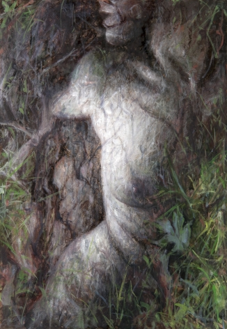 alyssa monks, Earth, 2016, oil on panel, 16 x 11 inches