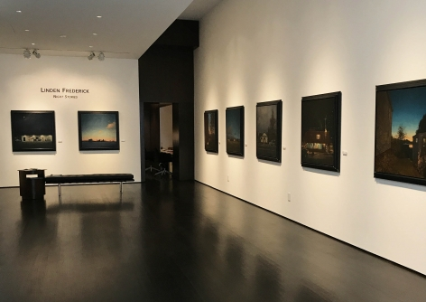 installation photo: Brian Rutenberg: Lowcountry, Forum Gallery, New York, NY, March 23 - May 6, 2017