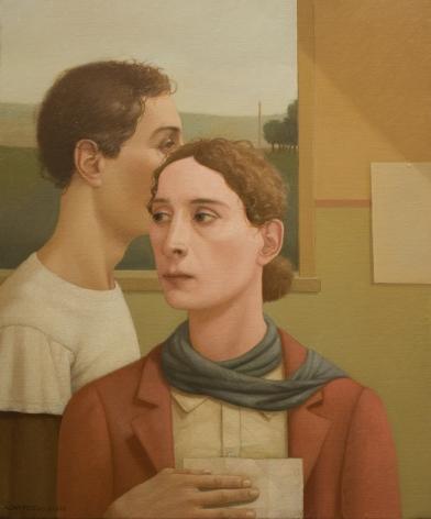 alan feltus, Passage, 2008, oil on canvas, 24 x 20 inches