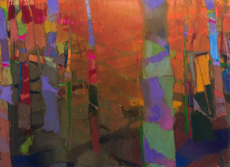 brian rutenberg, Pour (SOLD), 2014, oil on linen, 60 x 82 inches