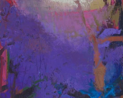 Brian Rutenberg, Grapeland (Study), 2017, oil on linen, 24 x 30 inches