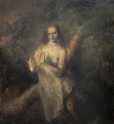 odd nerdrum, Tourettes, oil on canvas, 60 x 54 inches