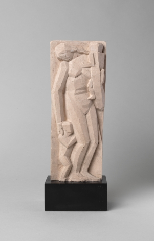 John Storrs, War Widow, c. 1919, terracotta, 8 1/4 h x 3 3/8 w x 1 3/4 d inches