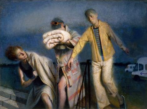 paul fenniak, Excursion, 2013, oil on canvas, 22 x 30 inches