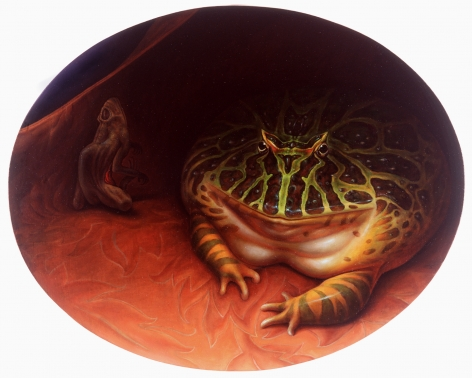 Wade Schuman, Avarice, 1994, oil on linen, 31 x 38 1/2 inches
