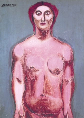 john graham, Standing Nude Torso, c. 1931, oil on canvas, 30 x 22 inches