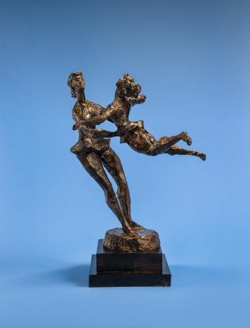 Chaim Gross, Ballerinas, 1966, bronze, 16 1/4 x 13 3/4 x 12 1/2 inches