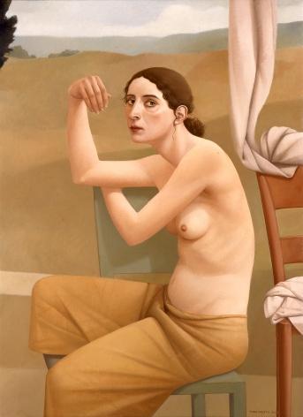 Alan Feltus, Morning Light, 2002, oil on linen, 43 1/4 x 31 1/2 inches